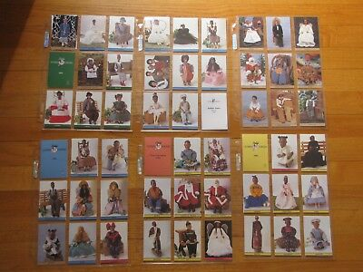 Vintage 120 Daddy's long legs collectors trading Card Lot.