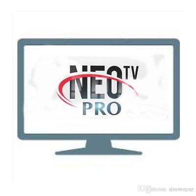 Neo tv IPTV ABONNEMENT 12 mois( smart tv, android TV box, mag , enigma ,m3u )