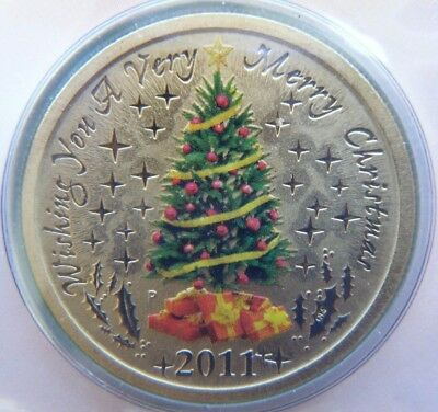 5 x 2011 Australia $1 Unc Coin Christmas X-mas PNC Perth Mint wholesale