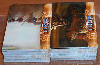 2013 Thor: The Dark World ~ COMPLETE 100-CARD BASE SET ~ Upper Deck