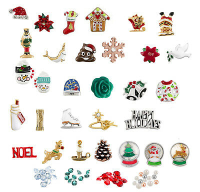 Origami Owl Christmas Charms New & Retired Holiday Collection FREE GIFT w/ 5!
