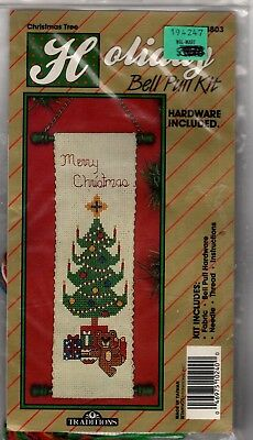 Holiday Bell Pull Kits (2) - Christmas Vintage in Original Packaging unopened