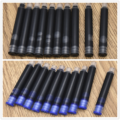 Wholesale Blue/Black Writing Instrument Fountain Pen Ink Cartridge Refill