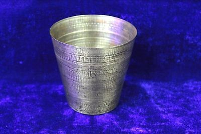 Antique Rare Vintage Old Brass Lassi Glass Made in ITALY Collectible PS5