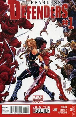 Fearless Defenders 1A 2013 Brooks Variant NM Stock Image
