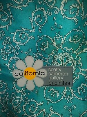 """New Scotty Cameron Gallery Grey Flower 4""""×3"""" Sticker Cool Fathers Day Gift Idea"""