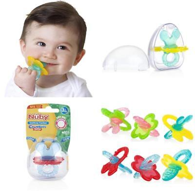 Nuby Chewbie Teether 3M Colours and Design Vary 1 piece