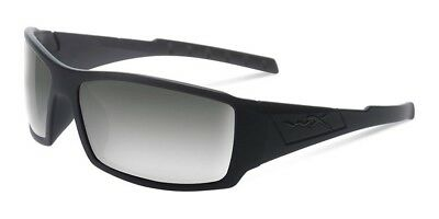 186ce972aed Wiley X SSTWI01 WX-Twisted SST Glasses Black Op Smoke Grey Len Matte Black  Frame