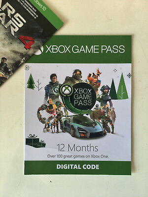 XBOX GAME PASS 12 MONTH  - Xbox One | Read Description |