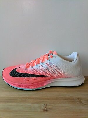 78c708a5d553 Womens Nike Air Zoom Elite 9 Hot Punch Running Shoes 863770 600 Size 8.5 NEW