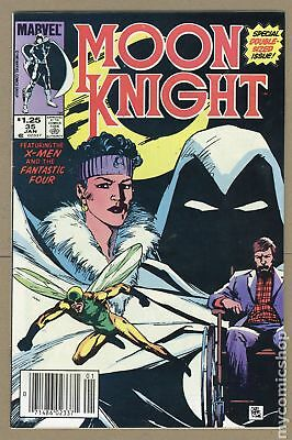 Moon Knight (1st Series) Canadian Price Variant #35 1984 FN 6.0