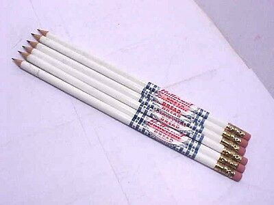 12 Vintage 1950s BUTTERNUT BREAD thin wooden advertising pencils -new old stock