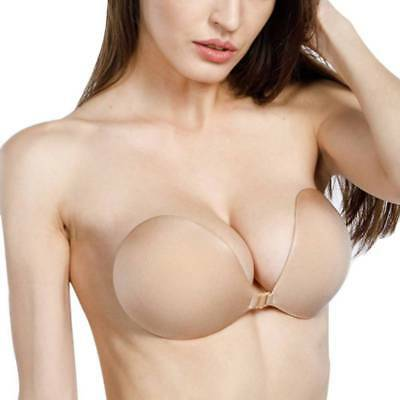 5cd9c9aebb Self-Adhesive Stick Push-Up Silicone Bra Gel Strapless Invisible Backless  Bra US