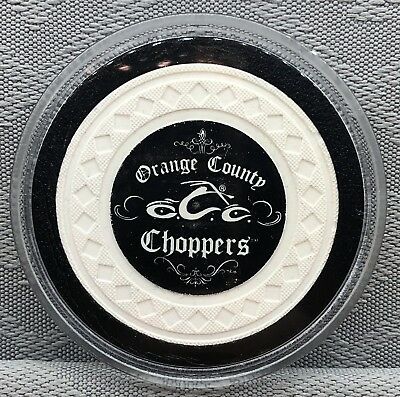Orange County Choppers - Poker Chip, Card Guard/protector