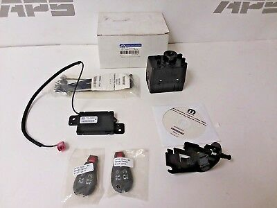 New Mopar 15-18 Dodge Caravan, CV Tradesman remote start kit. 82214847AB