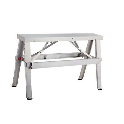 Professional Aluminum Drywall Bench Adjustable Lift Adjustable Step Workbench