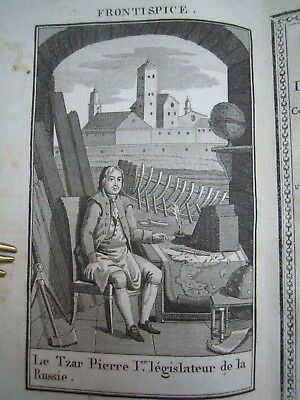 RUSSIE RUSSIA EMPEROR TSAR RUSSIAN EMPIRE HISTORY PEOPLE Россия 1814 ENGRAVINGS!