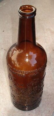 Old amber Four Roses Whiskey Bottle - Louisville, KY