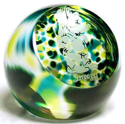 Caithness Glass SNOW WHITE Sneezy Paperweight 5592412
