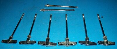 8 Vintage TAMA Superstar Imperialstand Swingstar Bass Drum T RODS / T's - (Sw97)
