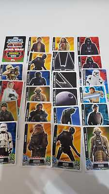 Lote Cartas Force Attax - Star Wars - Topps