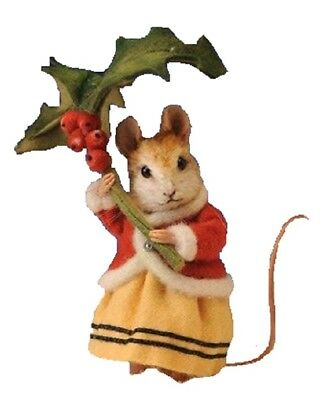 R. John Wright - Annamarie Winter Mouse, Winter Mice Collection - NO BOX