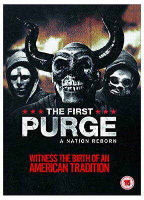 The First Purge (DVD + digital download) [2018] [New DVD]