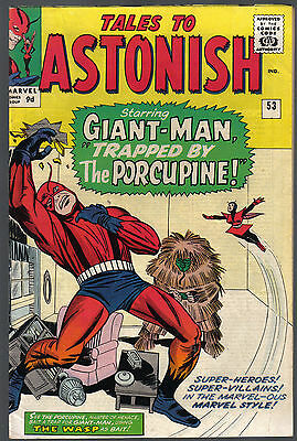 Tales To Astonish Issue 53 Produced By Marvel Comics