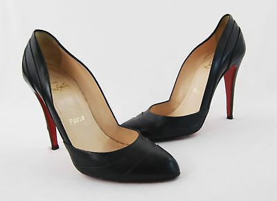 best sneakers ba888 1f426 CHRISTIAN LOUBOUTIN PIGALLE 85mm Black Patent Leather Heels ...