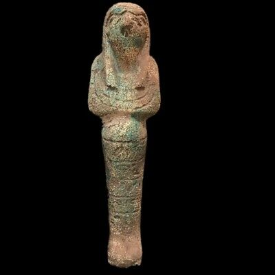 EGYPTIAN HIEROGLYPHIC SHABTI, LATE PERIOD 664 - 332 BC (12) Over 19cm Tall !!!!!