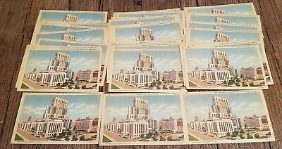 Lot of 42 New York, College and Hospital, New York City Vintage Postcards UNUSED