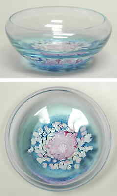 Caithness Glass MONET Water Lily Large Bowl 4036653