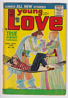 YOUNG LOVE Vol. 6, No. 12 (1955) RARE; Prince Charming cover; VG+ 4.5