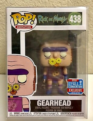 Funko Pop! Animation Rick And Morty Gearhead NYCC 2018 Exclusive