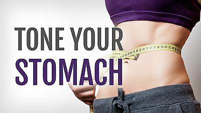 Tone your stomach  abs, fat burning cardio, belly exercises, flat abs on DVD