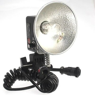 Norman 400B Lamp Head With Modeling Light and Coiled Cord LH52KML     4