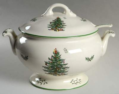 Spode CHRISTMAS TREE 75th Anniversary 4 Qt Tureen & Ladle 10102325