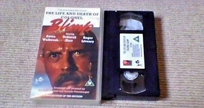 The Life And Death Of Colonel Blimp UK PAL VHS VIDEO 1995 Powell & Pressburger