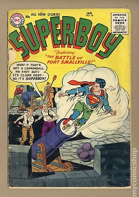 Superboy (1st Series DC) #46 1956 GD+ 2.5