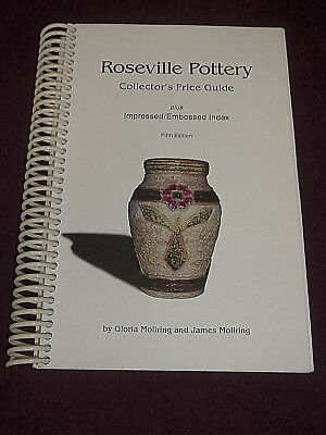 Roseville Pottery Collector's Price Guide 5th Ed. Book  Signed by Gloria Molring