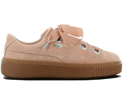 45e2a9b3b1176e Puma Platform Kiss Suede Women s Sneakers Leather Shoes Sneakers 366461-03  New