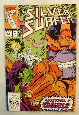 Silver Surfer Vol.3 #44 1st Infinity Gauntlet Thanos VFN+++/NM Key Issue 1990's
