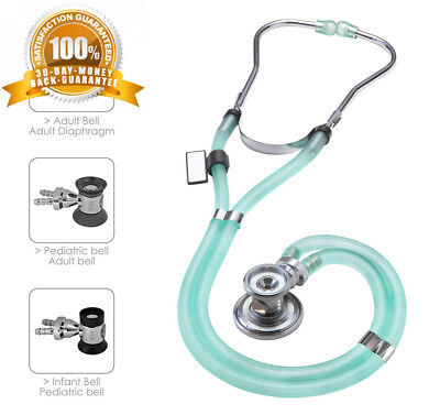 MDF® Sprague Rappaport Dual Head Stethoscope with Adult, Pediatric, and...
