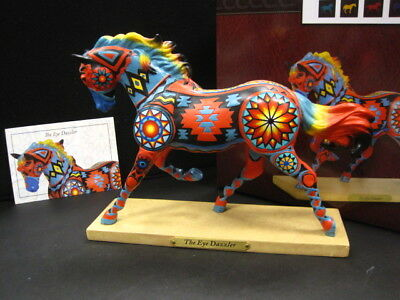 Trail of Painted Ponies THE EYE DAZZLER,1E low#, NIB, Horse Figurine Brand New
