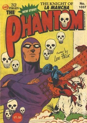 Phantom (Frew) Australian #1037 1993 VG- 3.5 Stock Image Low Grade