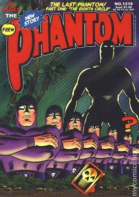 Phantom (Frew) Australian #1218 1999 VG- 3.5 Stock Image Low Grade