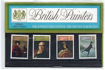 GB 1973 British Painters Presentation Pack VGC. Stamps. PP52 Free postage!!