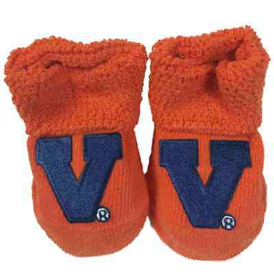 Virginia Kavaliere Two Feet Ahead Kleinkinder Baby Orange Marineblau Socken