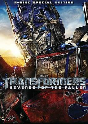 Transformers: Revenge of the Fallen (DVD 2009 2-Disc Set, Special Edition) NEW