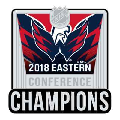 Washington Capitals 2018 Stanley Final Copa Este Confetti Campeones Pin de